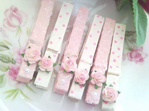 - - - SHABBY CHIC... CLOTHES PIN‼️‼️‼️