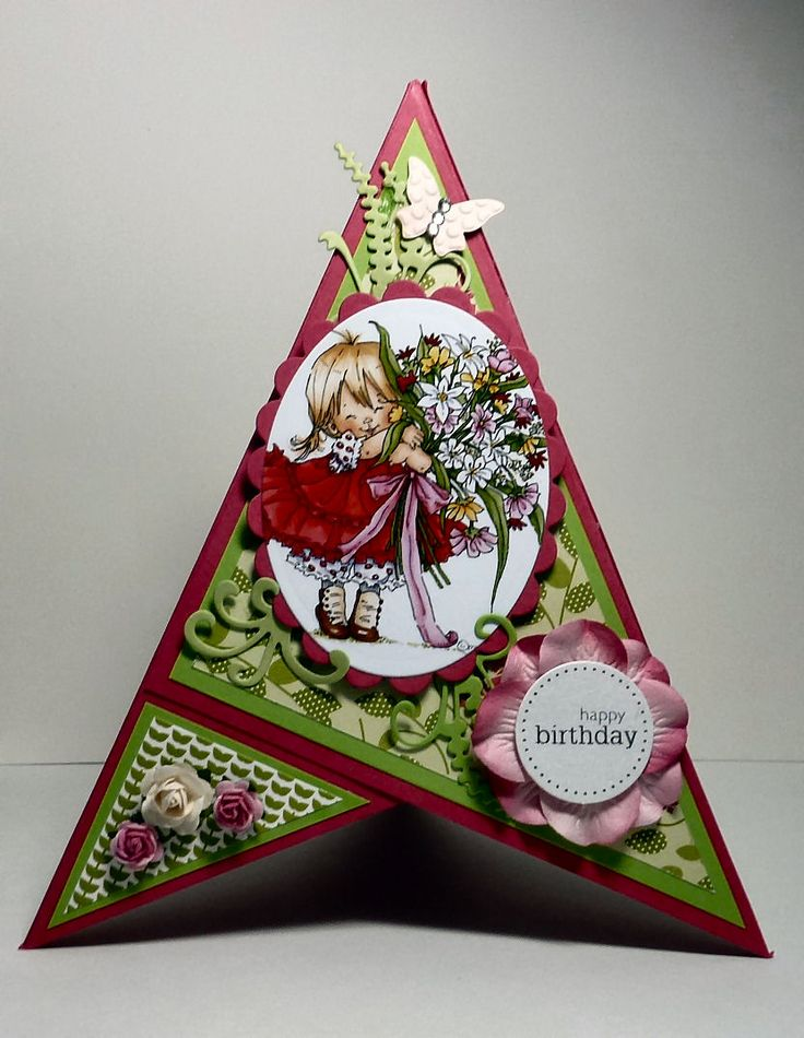 idea for teepee card ♥