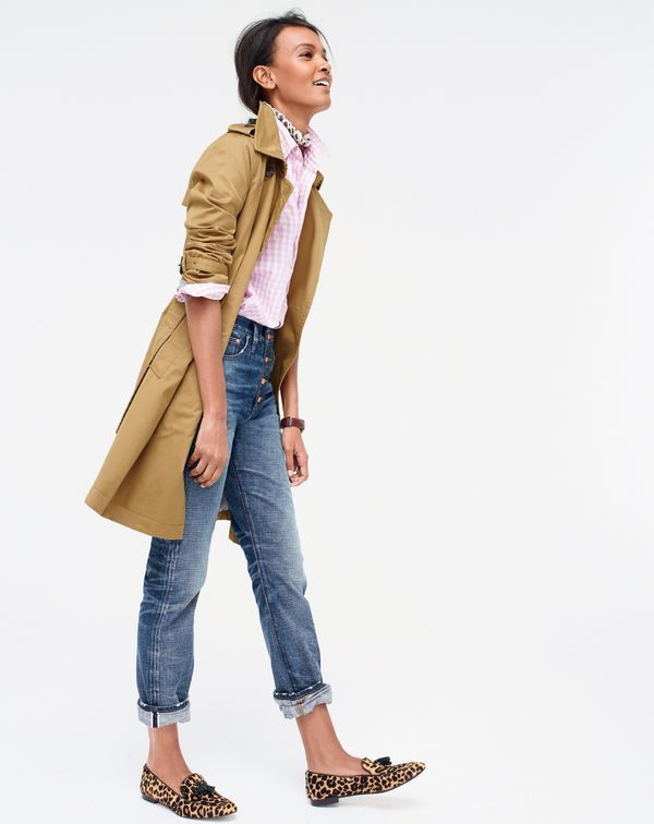 Do you speak J.Crew? Leopardize. Definition: to add a little—or a lot—of leopard to your look.
