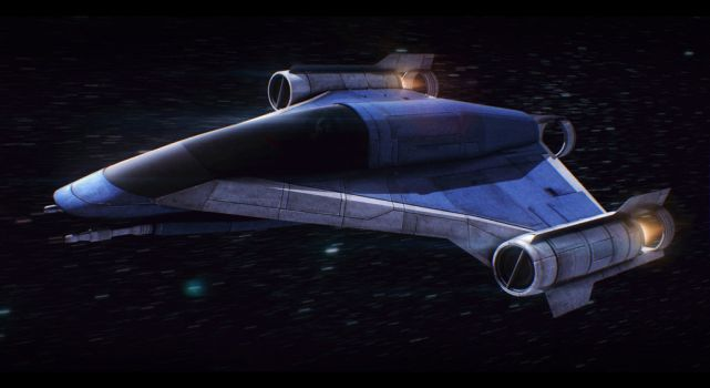Star Wars Incom LB-70 Light Bomber by AdamKop