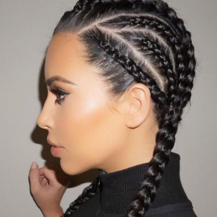 1000 ideas about kim kardashian braids on pinterest