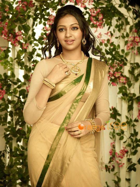 Lakshmi Menon in Saree