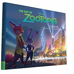 The Art of Zootopia Book | Disney Store <i>Zootopia</i> is a comedy-adventure starring Officer Judy Hopps, a rookie bunny cop who teams up with fast-talking scam-artist fox Nick Wilde. This lushly illustrated book offers a behind-the-scenes view of the film's creation.