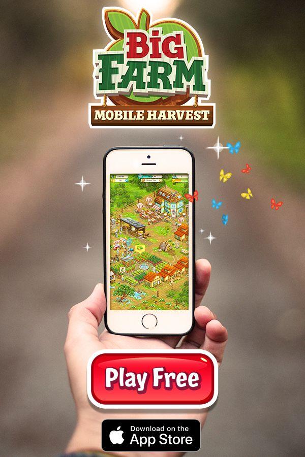 Big Farm Is An Online Farming Game Where You Can Build A Farm That