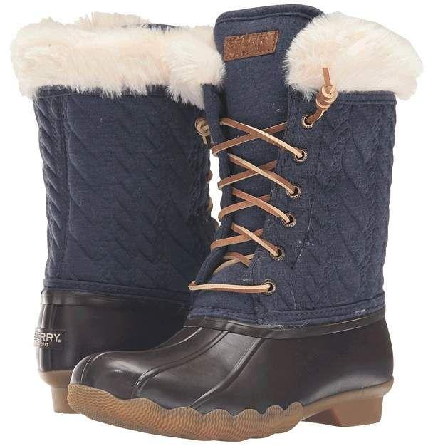 94bb7845d0 Sperry Kids Fashion Saltwater Boot (Little Kid Big Kid)