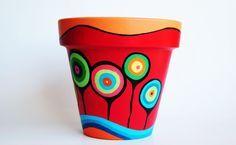 macetas pintadas a mano y decoradas - Buscar con Google