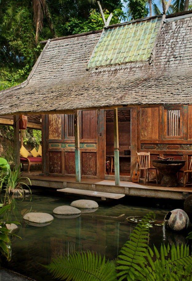Java Style House: Bambu Indah - Kolam House - Djuna Ivereigh