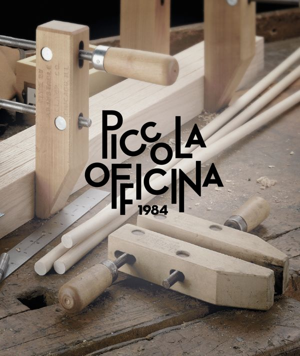 Piccola Officina by dework , via Behance