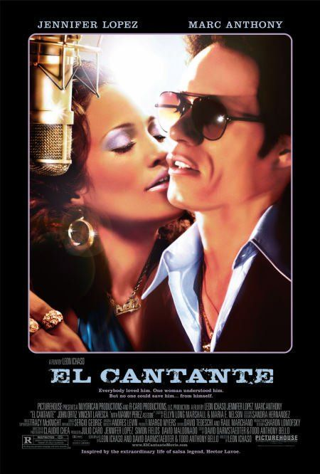 El cantante (2006) #  El Cantante is a 2007 biographical film which stars singers Marc Anthony and Jennifer Lopez. The film is based on the life of the late salsa singer Héctor Lavoe, who is portrayed by Anthony.The film is told from the viewpoint of Puchi, Hector's wife, portrayed by Lopez. Initially debuting at the Toronto International Film Festival on September 12, 2006, El cantante was released on August 3, 2007.