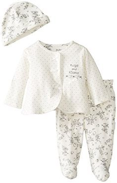Vitamins Baby Baby-Girls Newborn Hugs and Kisses 3 Piece Cardigan Pant Set, Ivory, 3 Months Vitamins Baby http://www.amazon.com/dp/B00JUFP4XO/ref=cm_sw_r_pi_dp_pcQ.tb1V1A5NS