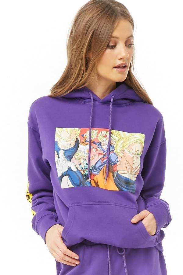 Forever 21 Dragon Ball Z Hoodie Naruto Shirts Hoodies Sweatshirts