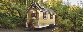 96 sq ft homes. Simple living.Tiny spaces. I'd have to throw out all of my clothes...
