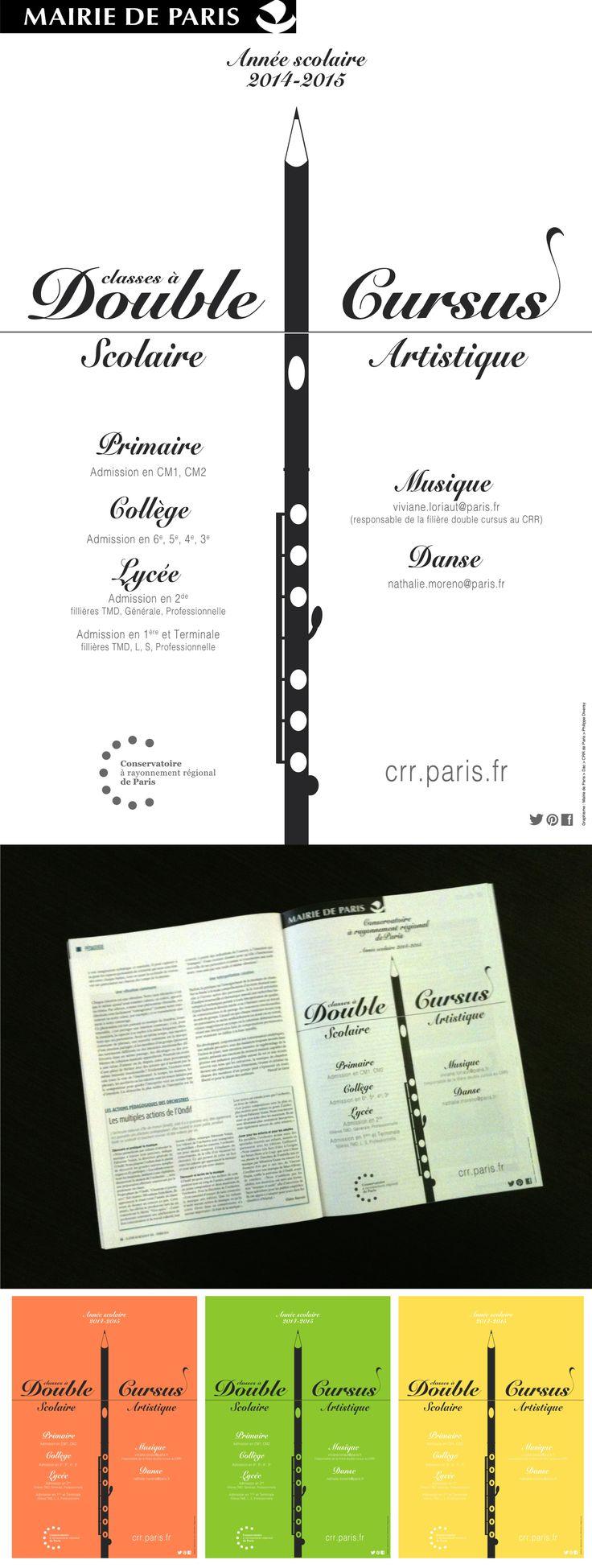 """Pub pour la """"Lettre du musicien"""" Févirer 2014. Graphisme : Sujet-Objet."""