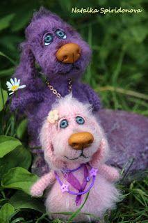 Crochet And Hook: Natalka Spiridonova, nagyorrú kutya- mintaleírás magyarul