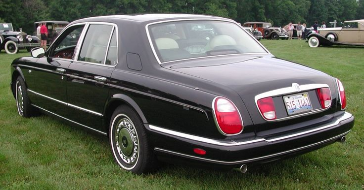 Rolls-Royce Silver Seraph Sedan Rear
