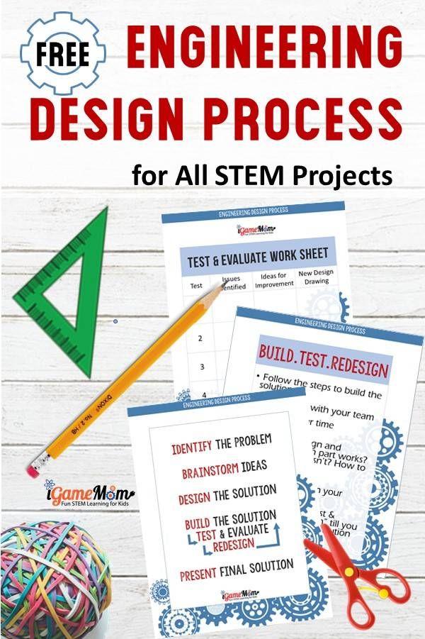 9 Back To School Stem Challenges Engineering Design Process