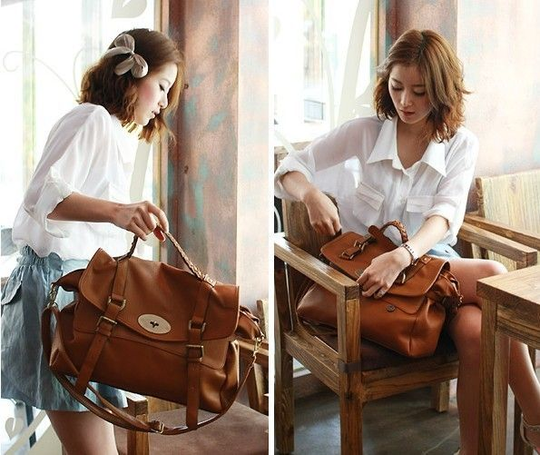 Find More Shoulder Bags Information about Free Shipping New Reasonablel Retro Vintage Versatile Womens Messenger Bag Shoulder Satchel Bag Brown School Book Bag,High Quality Shoulder Bags from Sally's Magic Box on Aliexpress.com