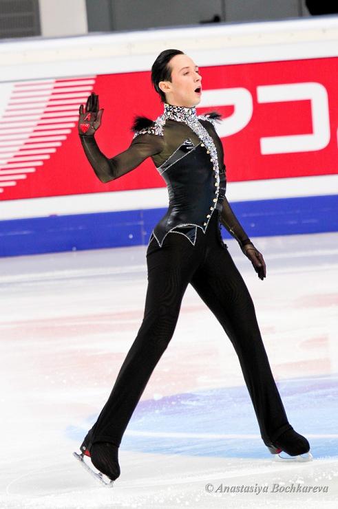 Johnny Weir, Men's Figure Skating / Ice Skating dress inspiration for Sk8 Gr8 Designs.