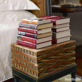 "8 Style Rules from the ""First Couple"" of decorating - LOVE the idea of buying second-hand books for your guest room, so your guests can take them with them when they go! Share the books!!"