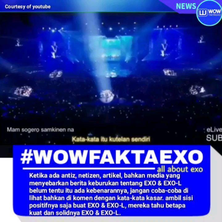 """25.1rb Suka, 1,125 Komentar - 🔵 WOW FAKTA EXO INDONESIA 🇮🇩 (@wowfaktaexo) di Instagram: """"Follow akun ini dulu yah 👉@showbiz.korea ❣Pokoknya apapun yang di beritakan media kornet jangan di…"""""""