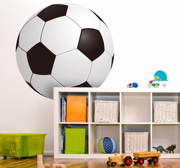 Sticker Kleur Voetbal