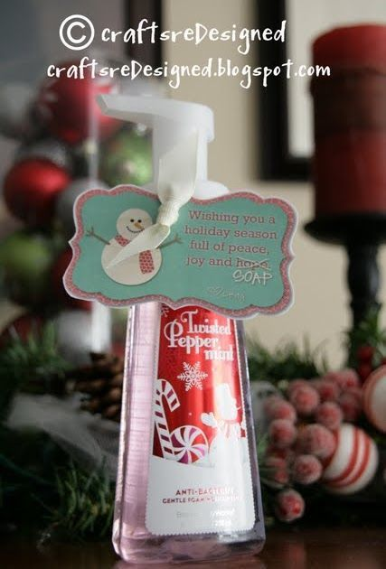 Here are two ideas {and printables so you can make your own} Merry Christmas from CraftsreDesigned. We love being able to share our craft id...