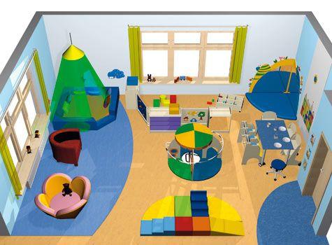 Coin des bébés - Salle d'activité - Exemples d'aménagement - Haba petite enfance - Habermaaß GmbH