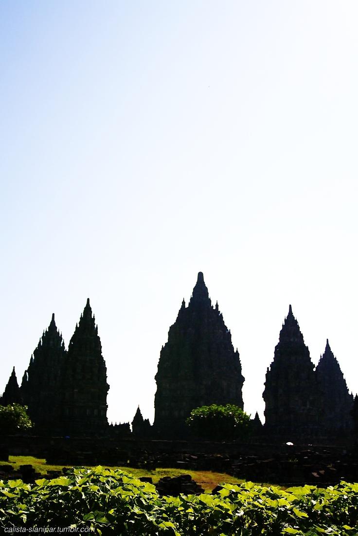 Prambanan Temple of West Java.