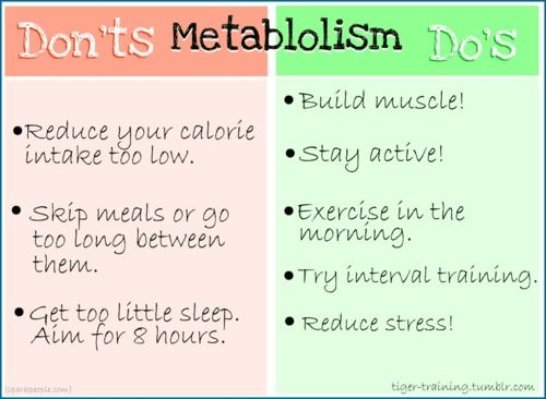 To do and not to doMetabolism Do, Healthy Time, Health Tips, Fit Inspiration, Loss Plans, Health Fit, Fit Motivation, Weights Loss, Healthy Living