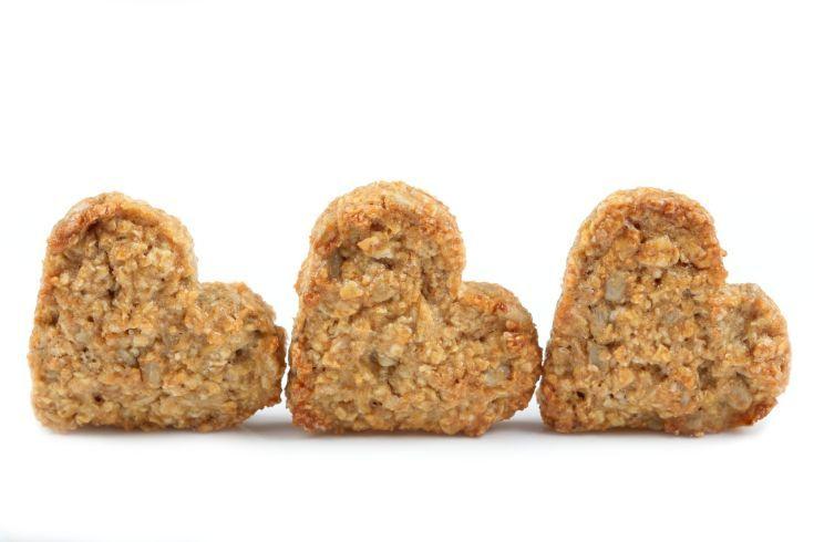 Nepečené ovsené sušienky