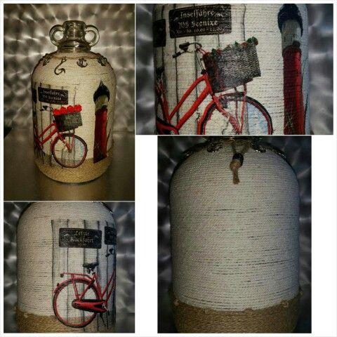 Vintage bottle made by Nina...