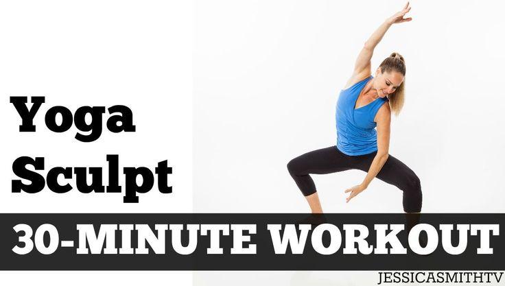 Yoga, 30 Minutos para Esculpir, desenhado pela guru do fitness Jessica Smith, do canal JessicasmithTV, é a combinação perfeita dos movimentos de yoga e de tonificação. Esculpir e tonificar o corpo todo com esta série de movimentos inspirados no yoga, tendo como benefícios força, tonificação, flexibilidade e equilíbrio.