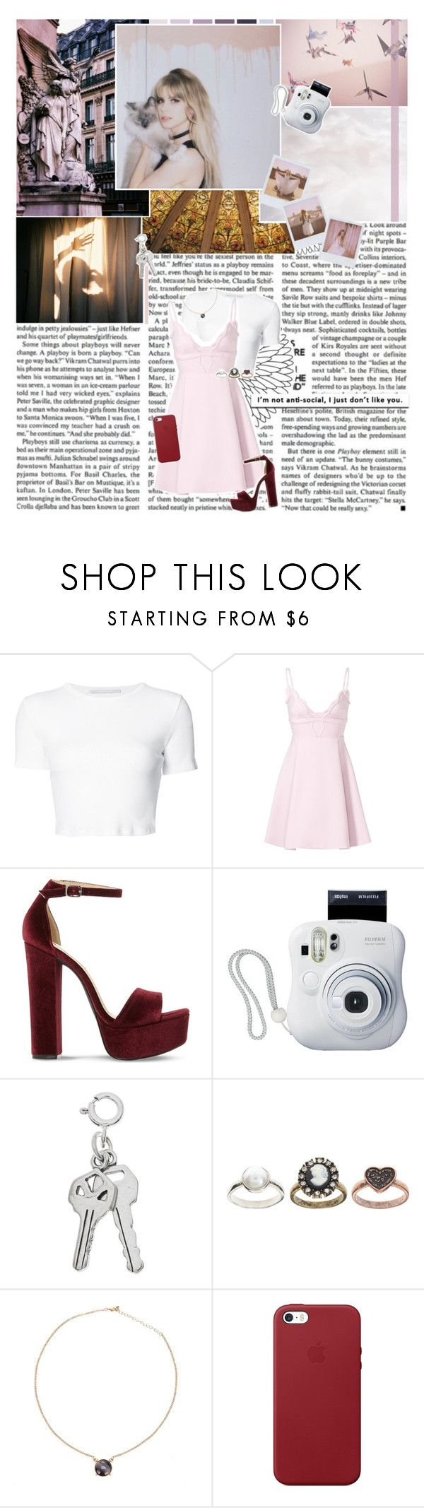 """""""// 419 //"""" by cidinha-001 ❤ liked on Polyvore featuring Rosetta Getty, Giambattista Valli, Steve Madden, Band of Outsiders, Fujifilm, ASOS and Apple"""