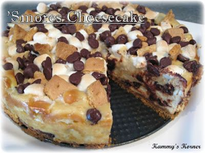 Kammy's Korner: S'mores Cheesecake Recipe {Happy National S'mores Day to you}