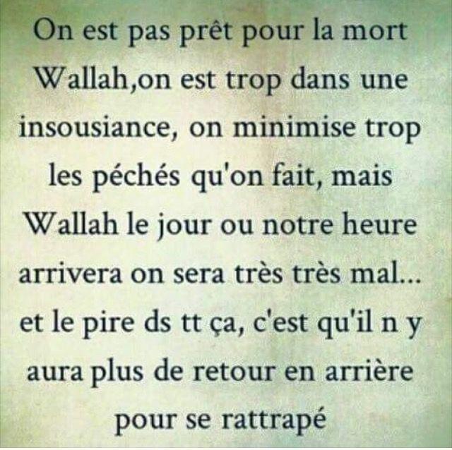 Preparons Notre Mort Avant Qu Il Ne Soit Trop Tard Islam Citations Mort Rappel Islam Citation Coran