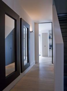25 best ideas about hal spiegel on pinterest ingangs plank kleine ingang en kleine gangen - Hal ingang design huis ...