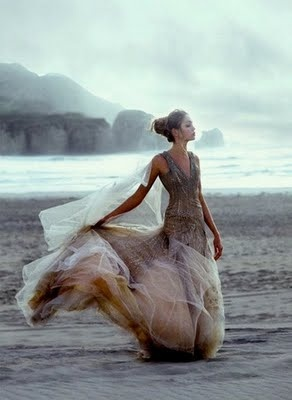 If only the wind would blow my dresses in such an attractive fashion, instead of lifting my skirts in an unseemly manner.....