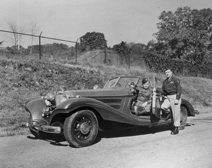 Mercedes benz 540 k a nazi staf car ww2 military staff for Mercedes benz greenway staff