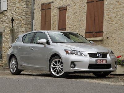 Fuel efficient cars - 2014 Lexus CT 200h