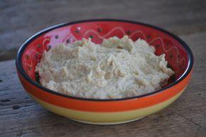 Zelfgemaakte hummus - Uit de pan van San