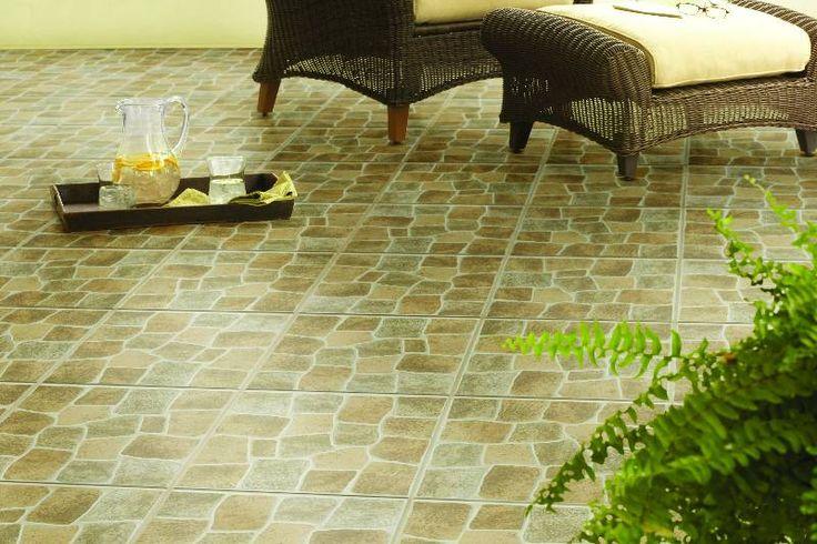 El piso ideal para cualquier patio.