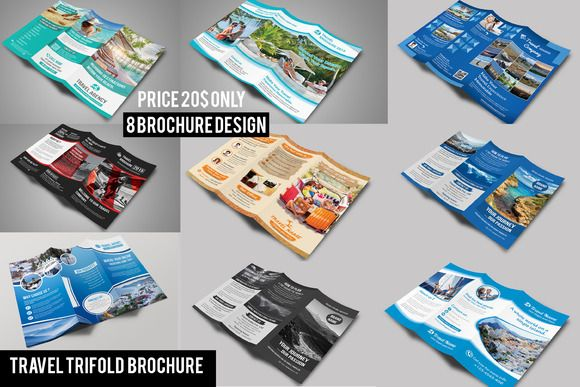 Best  Travel Brochure Template Psd Ai And Indesign Format
