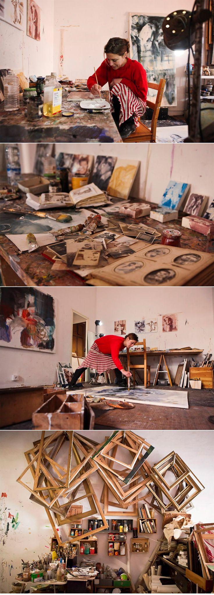 Inside The Studio: Anna McNeil http://magazine.saatchiart.com/articles/artnews/saatchi-art-news/inside-the-studio-saatchi-art-news/anna-mcneil