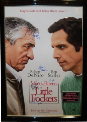 Antiquities LV - Little Fockers Signed Poster By 5, $1,295.00…