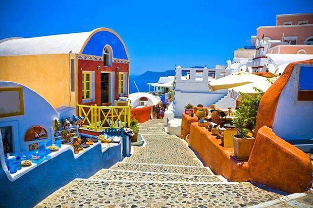 ギリシャ サントリーニ島 イア                                                                                                                                                      もっと見る