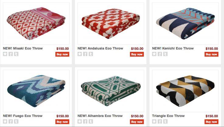 Cute blankets from Happy Habitat