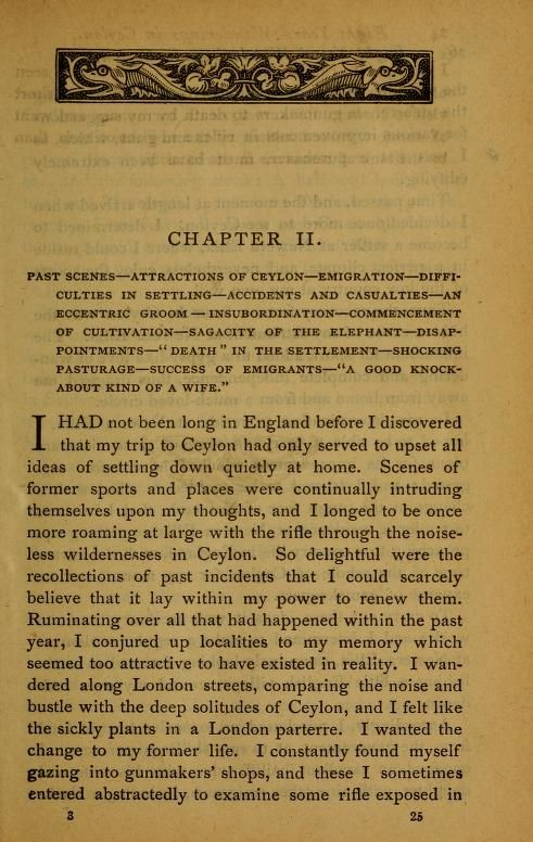 Eight years wanderings in Ceylon