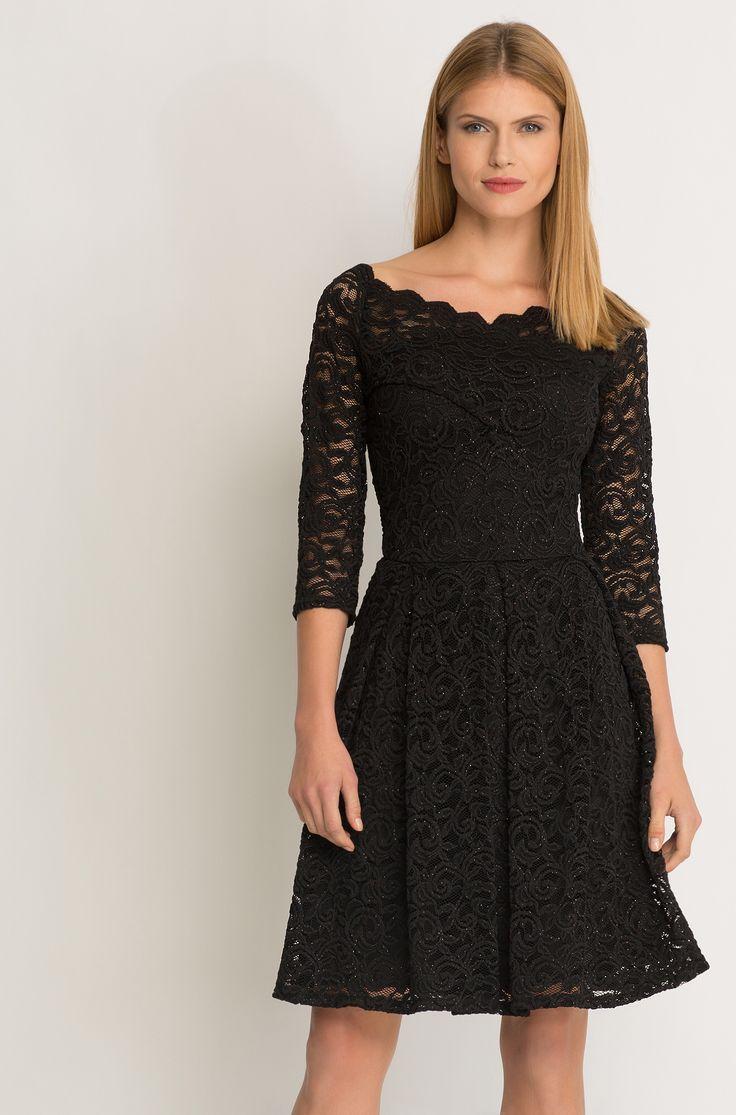 - Gesamtlänge (Größe 36): 84,7 cm - unser Model ist 176 cm groß und trägt Größe 36 Unser Tipp: Mit diesem Kleid verführen Sie jeden! Mit schicken Pumps und passender Clutch von ORSAY ein perfektes Outfit für den Abend kreieren!
