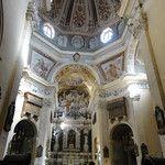 Inside the San Michele church in Cagliari -Sardinia - Italy
