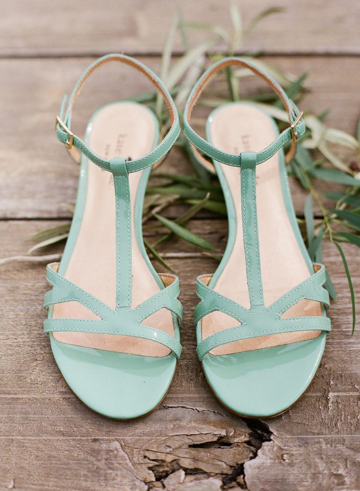 Mint blue Kate Spade #shoes | Photo: www.weddings.brookeboling.com I just need them to be a darker blue